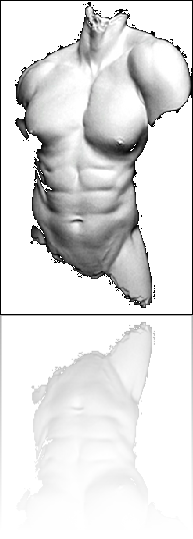 "Classic Grecko / Roman Pose and strength in this study ""Male Torso"""